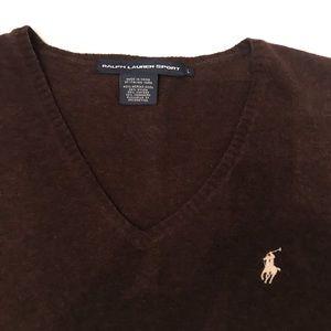 Polo by Ralph Lauren Sweaters - Ralph Lauren Sport size L V-neck sweater